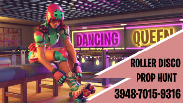 ROLLER DISCO PROP HUNT!