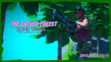 🌸The Sacred Forest|Zone Wars🌸