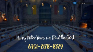 Harry Potter Years 1-4 (Find the Coin)