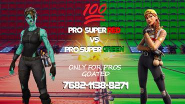 💯❤️SUPER PRO RED VS SUPER PRO GREEN💚💯