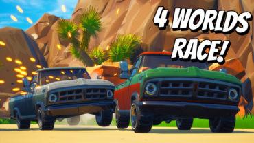 1v1 4-Worlds Race
