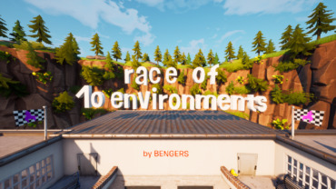 Race of 10 environments