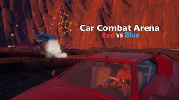 🏎Car Combat Arena - 🔴Red vs Blue🔵