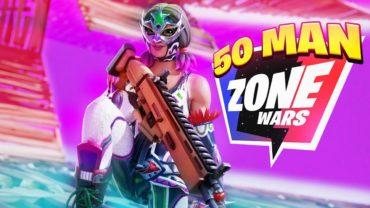 Realistic 50 Man ZoneWars w/ Scoring واقعية حروب منطقة 50 رجل