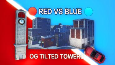 🔴Red vs Blue🔵 OG Tilted Towers + Cars