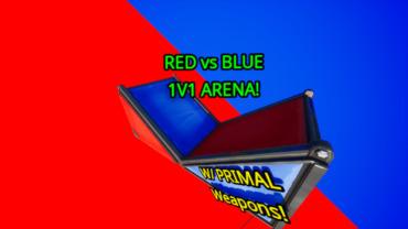 🔴vs🔵1v1 ARENA (Red Vs Blue 1v1)