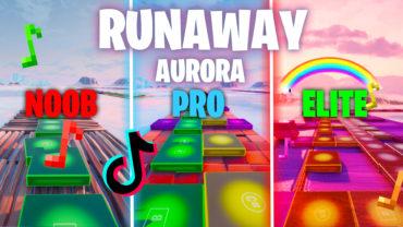 AURORA - Runaway (Fortnite Music) TIKTOK