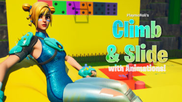 CLIMB AND SLIDE WITH ANIMATIONS   D-LUX