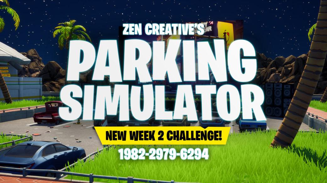 Where Ate The 2 Hidden Shortcuts In Fortnite Parking Simulator Zen Creative Fortnite Creative Map Code