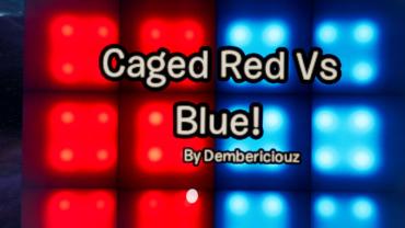 💯 Caged Red Vs Blue الأحمر مقابل الأزرق