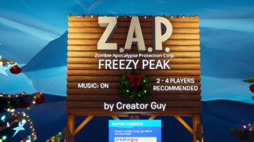 Z.A.P. Corp - Freezy Peak (1 - 4 Players)