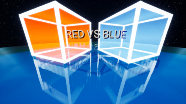 💯RED VS BLUE CYBER FIGHT