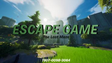 ESCAPE GAME - The Last Maze