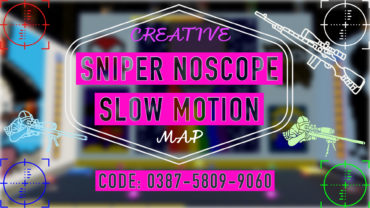 🎯SNIPER NOSCOPE🎯 (SLOW MOTION)🔮  ماب سنايبر نوسكوب: سلو موشن