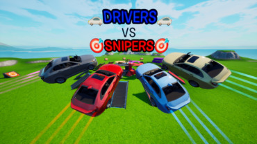 🚗DRIVERS🚗 VS 🎯SNIPERS🎯 🐐GO GOATED🐐
