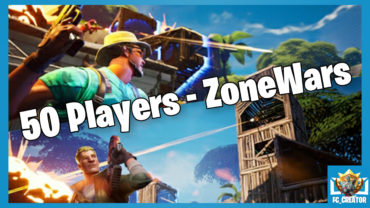 50 Players - ZoneWars