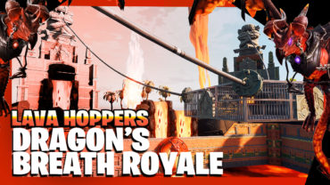 Lava Hoppers: Dragons Breath Royale