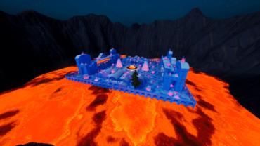 Frozen Lava - Gun Game