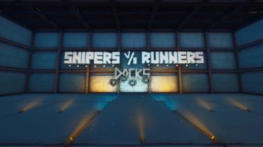 50 Player Snipers vs Runners - Docks