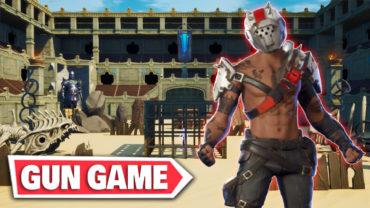 Gladiator Arena Gun Game