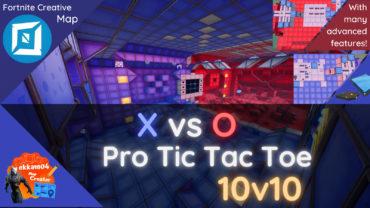 🔵X vs O Pro Tic Tac Toe 10v10🔴