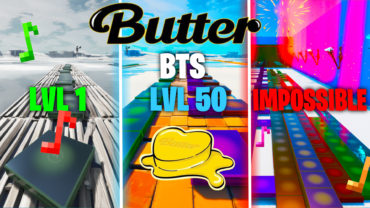 BTS - Butter but in 3 levels