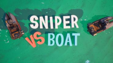 SNIPER VS BOAT