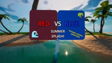 🌴 16v16 RED VS BLUE SUMMER SPLASH! 🌊