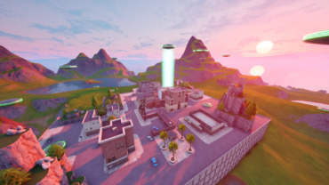 Aliens invade Tilted Towers