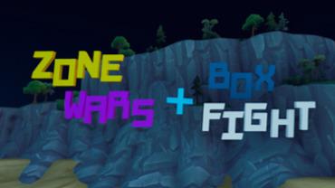 Zone wars + Box fight   ICreeperLoveI