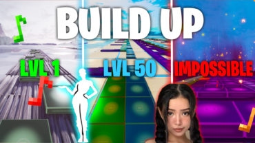 Build Up EMOTE in Fortnite Music Block