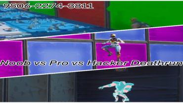Noob vs Pro vs Hacker Deathrun