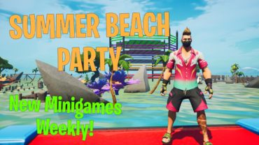 🌴🏊Summer Beach Party!😎🎣 FISH UPDATE
