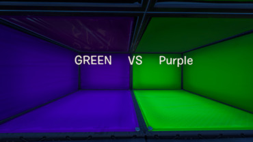 Green VS Purple - TRAPPERS VS RUNNERS