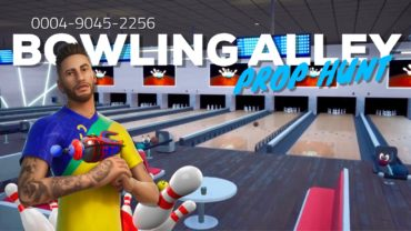 Bowling Alley PROP HUNT!