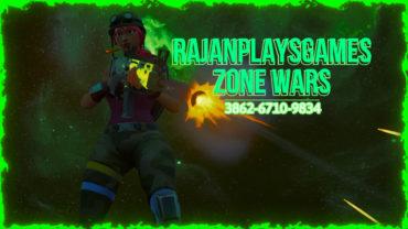 RajanPlaysGames Zone Wars