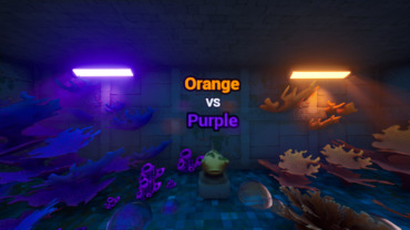 Orange Vs Purple - Cross the Kingdom