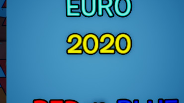 Euro 2020 RED VS BLUE