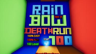 100 Level Default Rainbow Deathrun