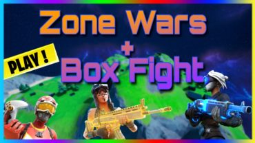 Zone wars + Box fight | ICreeper_LoveI