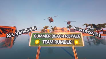 🏝 SUMMER BEACH ROYALE 🏝 ALL VEHICLES!