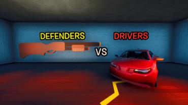 🚗 Drivers VS Defenders! 🛡️