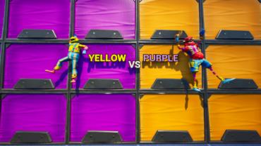 Yellow vs Purple Pro 💯