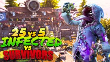 INFECTED vs. SURVIVORS: 25vs5