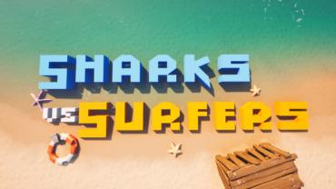 Sharks vs Surfers!! 4v4