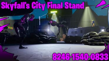 Skyfall's city final stand