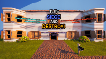 TLE's SIEGE AND DESTROY! | (5v5 Players)