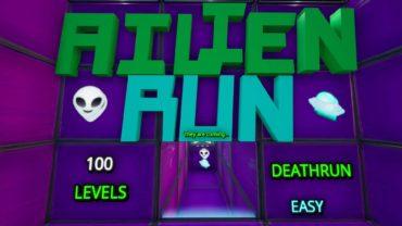 👽 100 Level Alien DEATHRUN 🛸