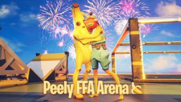 PEELY FFA ARENA🍌 1v1 BOX FIGHT BUILD A BATTLE