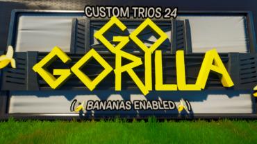 Go GORILLA  (Bananas Enabled🍌)